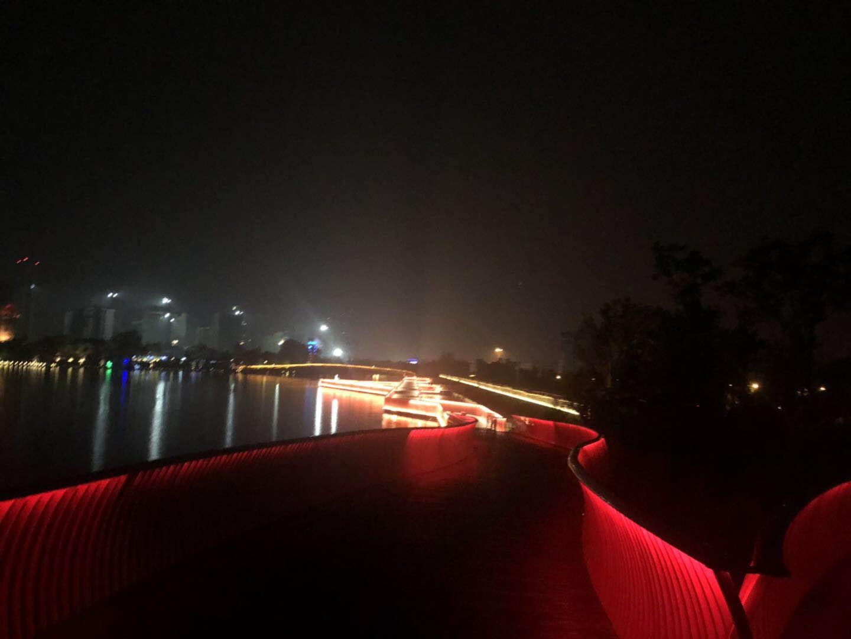 2019年4月22日金狮湖夜跑之二